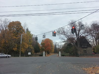 South Gate Entrance Albany Rural Cemetery